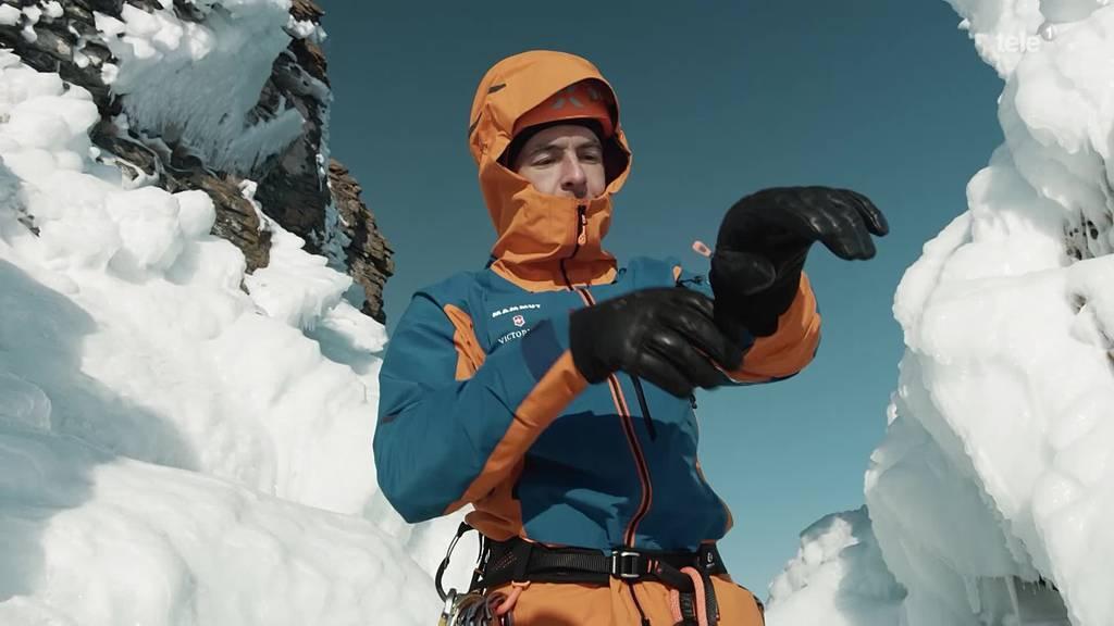 Eisklettern in Sibirien mit Dani Arnold