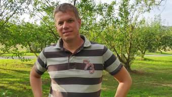 Simon Zubler kandidiert für das Amt als Gemeindeammann in Waltenschwil. Zur Zeit weilt er noch in den Ferien in der Toskana.