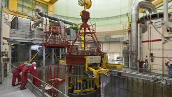 """Prädikat """"ausreichend"""": Reaktorblock 2 des AKW Beznau (Archiv)"""