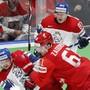Russland und Tschechien lieferten sich eine unterhaltsame Partie