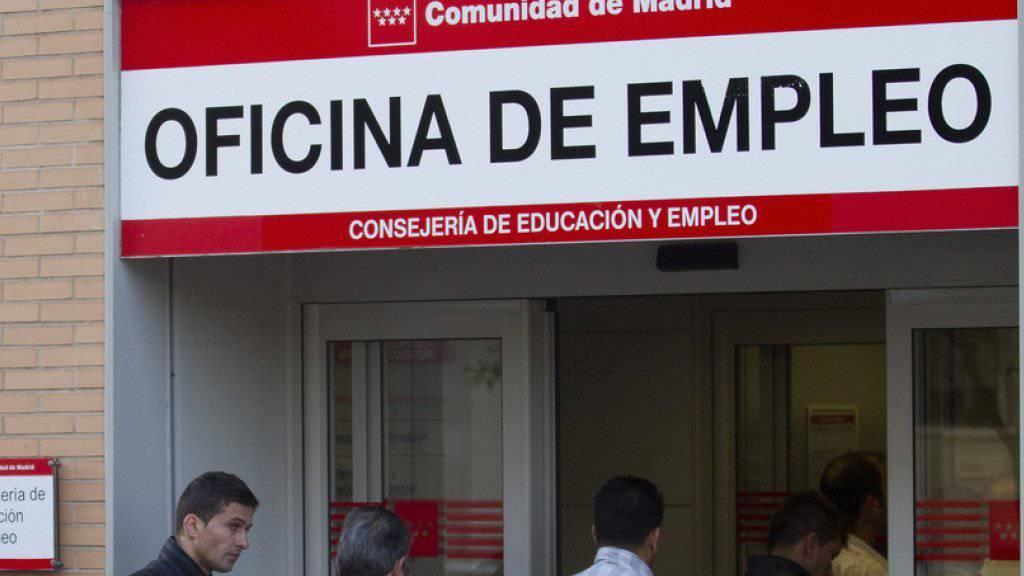 Spanien hat mit 22,2 Prozent die zweithöchste Arbeitslosenquote der Eurozone.