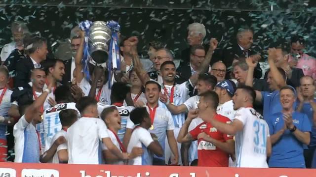 So feiert der FCZ den Cupsieg