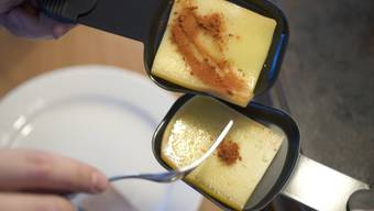 Raclette-Käse ist im Ausland besonders beliebt (Symbolbild)