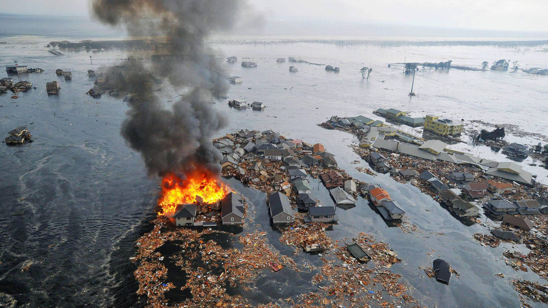 Fukushima Feuer