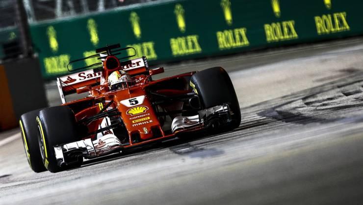 Sebastian Vettel Schnellster in Singapur