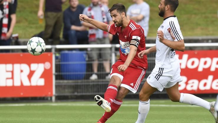 Der FC Baden kann seinen Vorsprung im Kampf um Platz 2 nicht ausbauen.