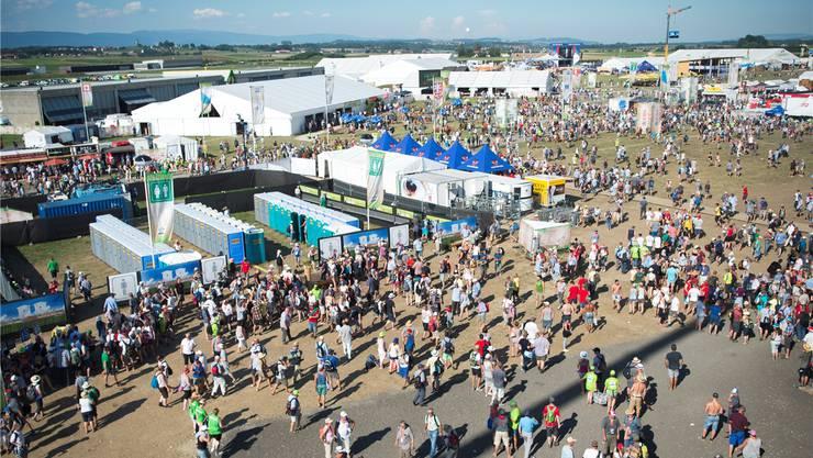 Rund 250 000 Besucher erwarten die Organisatoren in der Arena und auf dem riesigen Festgelände.