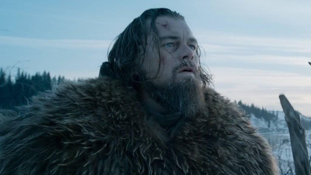 Das Gerücht, Leonardo DiCaprio werde im Film «The Revenant» von einem Bären vergewaltigt, wurde vom Studio Twentieth Century Fox nachdrücklich dementiert (Handout/Ausschnitt).