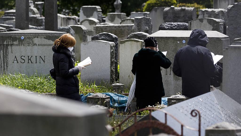 Forscher sagen 200'000 Coronavirus-Tote in USA bis Oktober voraus