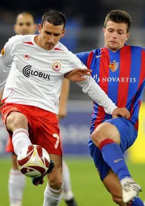 Valentin Stocker war 2009 dabei, als der FCB zweimal gegen CSKA Sofia gewann.