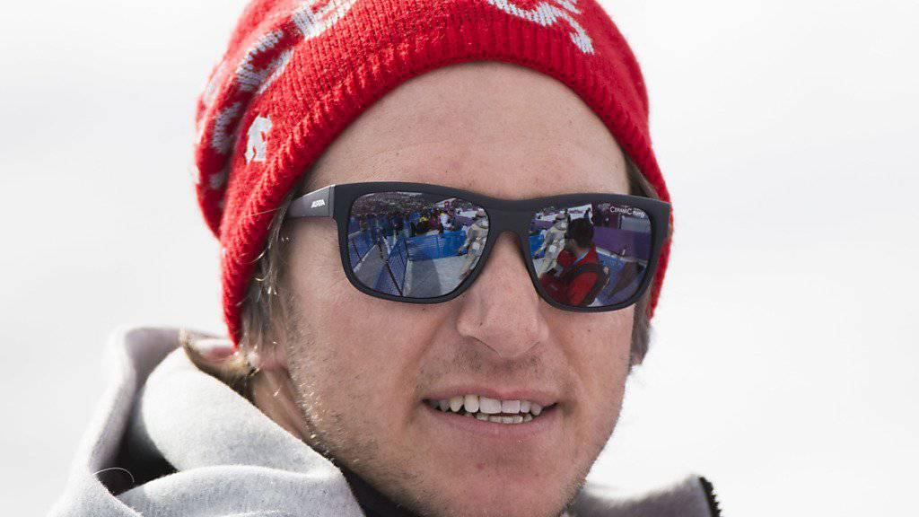 Zurück bei Swiss-Ski: Mike Schmid gehört in Saas-Fee zum Trainerstab der Schweizer Skicrosser