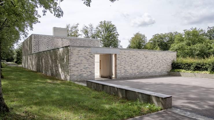 Das neue Krematorium.