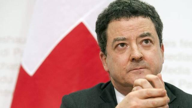 EDA-Staatssekretär Yves Rossier (Archiv)