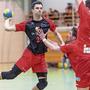 Handball Wohlen hatte gegen den TV Muri gerade in der zweiten Hälfte einen schweren Stand.