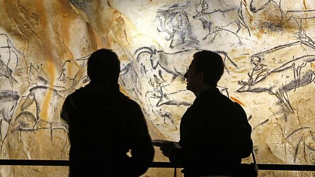Die Chauvet-Höhle mit den berühmten Wandmalereien, hier in einer Nachbildung.