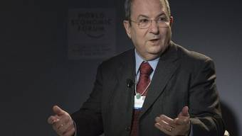 Israels Verteidigungsminister Ehud Barak in Davos