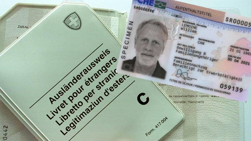 Neuer Ausländerausweis kommt im Kreditkartenformat