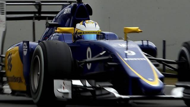 Eriksson bei den Tests nur von Massa geschlagen