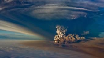 Die Aschewolken von Vulkanausbrüchen kühlten in den letzten 2500 Jahren immer wieder das Klima ab - und verursachten Hungersnöte und Krisen. Dank Baumringdaten sind sie nun genau datiert. (Bild: Der Grimsvotn-Vulkan in Island)
