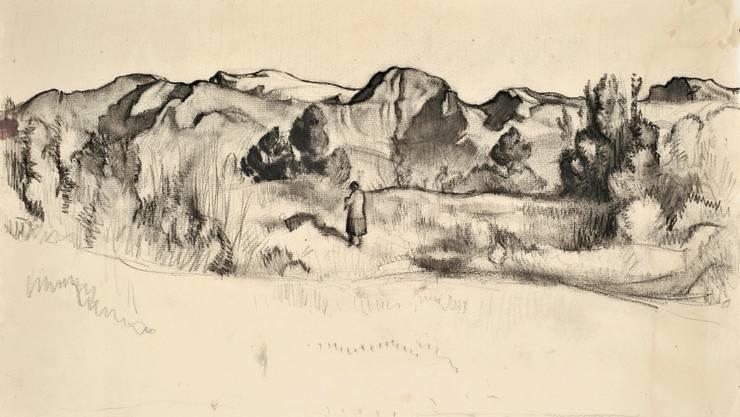 «Gebirge, Vercorin» (1921)