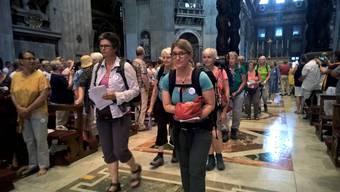 Pilgerreise Nonnen Rom