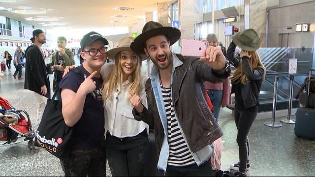 ZIBBZ in Richtung Eurovision Song Contest abgereist