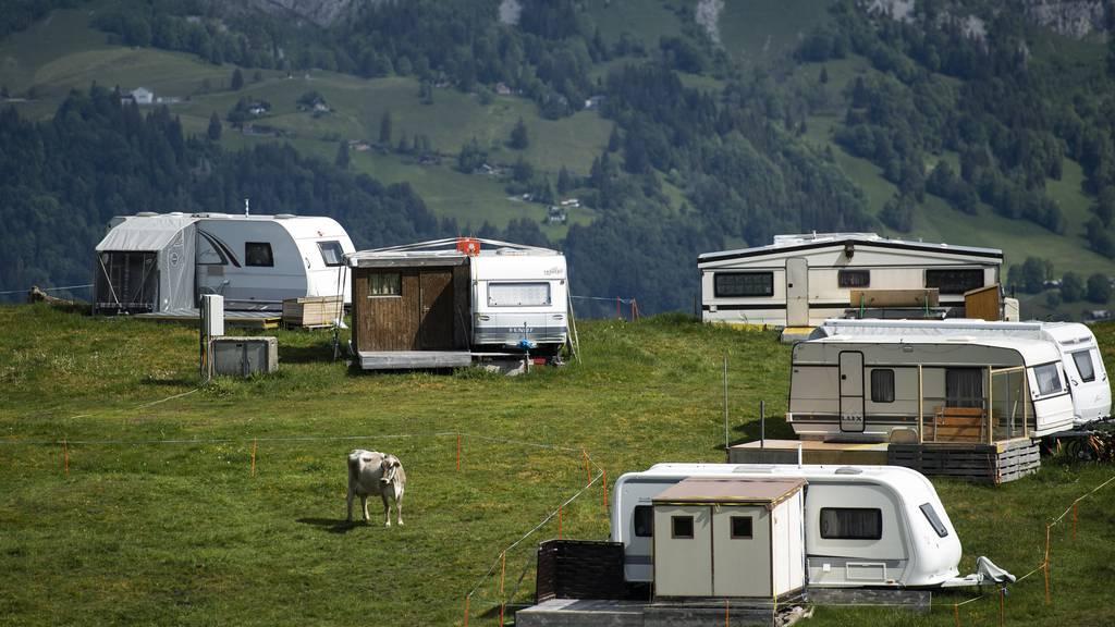 Campingplätze legten letztes Jahr bei den Logiernächten zu. (Symbolbild)