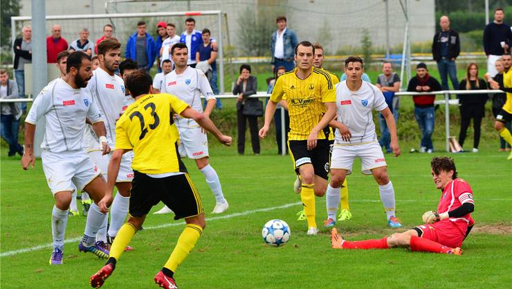 Goalie und Captain Thomas Husi ist der einzige FCO-Spieler, der in der Vorrunde jede Minute absolviert hat.