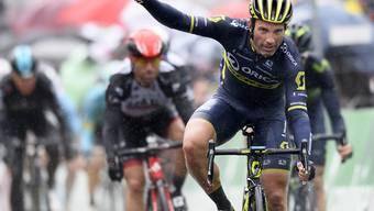 Siebter Etappenerfolg an der Tour de Romandie: Michael Albasini feiert in Champéry einen weiteren grossen Sieg
