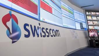 Im Swisscom-Netz ist es in der Nacht auf Mittwoch zu grösseren Ausfällen gekommen.