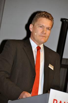 Durfte ein erfreuliches Jahresergebnis präsentieren: Thomas Rindisbacher, Vorsitzender der Bankleitung.