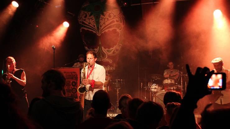 Die Band Äl Jawala bot den Zuhörern einen Mix aus Balkan-Soul, Dance-Beat und modernem Klezmer.