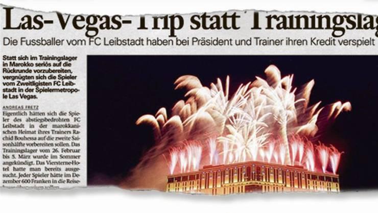 Nach diesem Artikel überschlugen sich beim FC Leibstadt 2010 die Ereignisse.