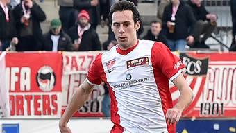 Dauerläufer Sacha Stauffer gewann mit seinen Solothurnern das Hinspiel 2:0 gegen Lancy.