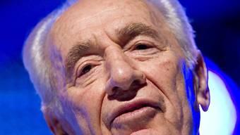 Israels Präsident Schimon Peres (Archiv)