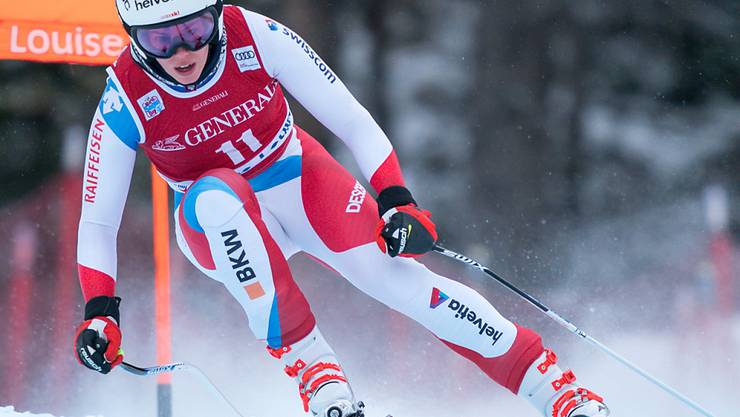 Michelle Gisin war erneut bestklassierte Schweizerin