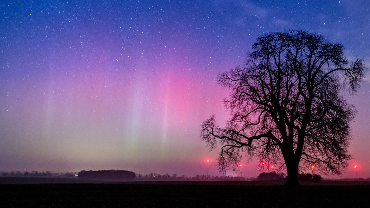 Aurora Borealis Wetterleuchten Island Good News