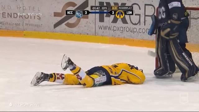 SCL-Spieler zurück nach doppeltem Kieferbruch