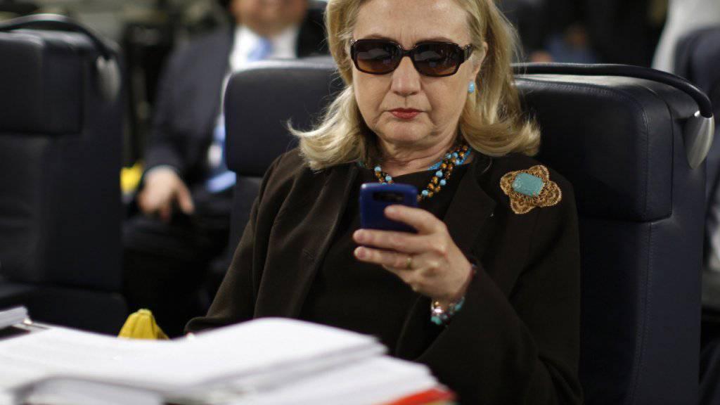Die E-Mail-Affäre begleitet Clinton weiter im Wahlkampf