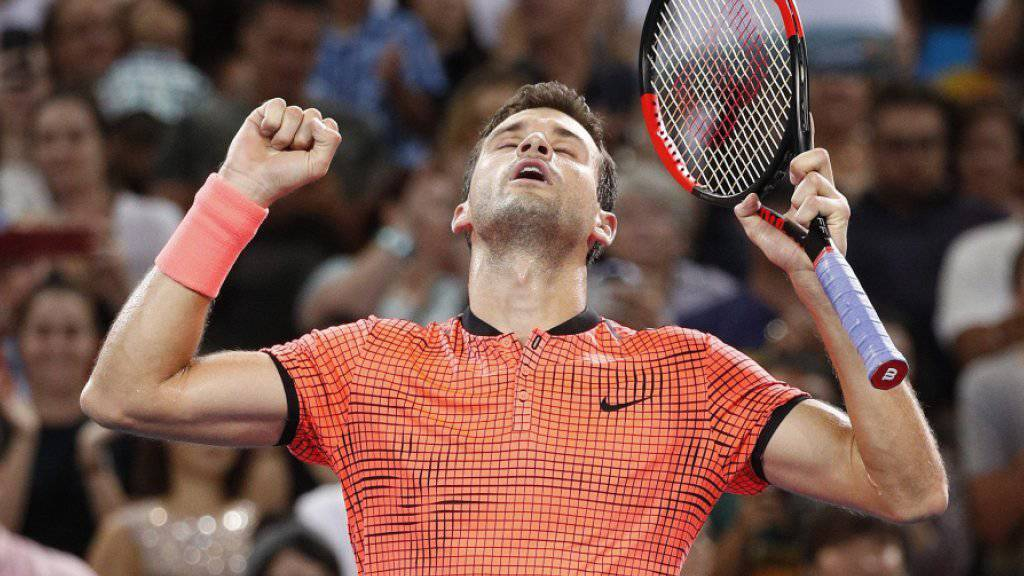 Grigor Dimitrov krönte mit seinem fünften Turniersieg eine perfekte Woche in Brisbane