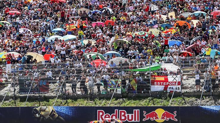 Auf dem Circuito de Jerez ist derzeit nicht an Motorrad-Rennen und volle Tribünen zu denken