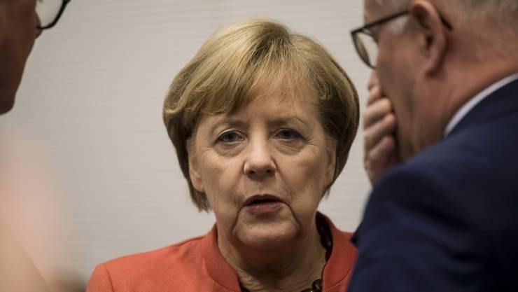 Bundeskanzlerin Angela Merkel hat eine ihrer grössten Krisen zu bewältigen.