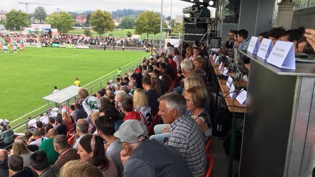 Cupduell FC Muri vs FC St.Gallen