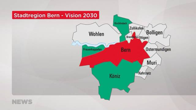 `Stadtregion Bern`: Chancen und Risiken für die Agglomerationsgemeinden