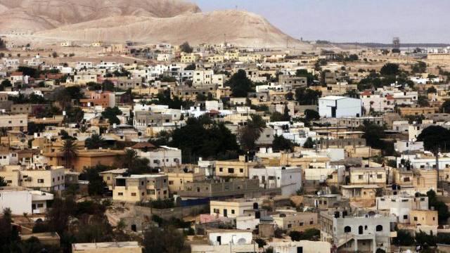 Blick auf Jericho im Westjordanland, wo die Gespräche weitergehen