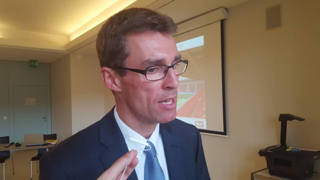 Stadtrat Lukas Pfisterer über die neuen Stadionpläne