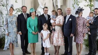 Die schwedische Königsfamilie wächst und wächst: Der neuste Zuwachs ist das zweite Kind von Prinz Carl Philip und Prinzessin Sofia (rechts). Prinzessin Madeleine (links) ist zum dritten Mal schwanger. (Archivbild)