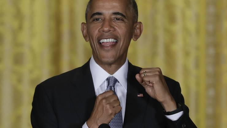 """US-Präsident Barack Obama hat ein Faible für """"Kram"""" wie künstliche Intelligenz und interplanetares Reisen. (Archibild)"""