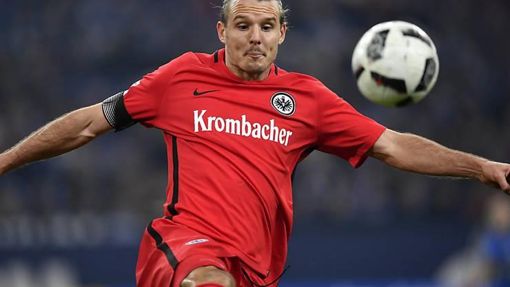 Der Frankfurter Alexander Meier schoss den einzigen Treffer der Partie