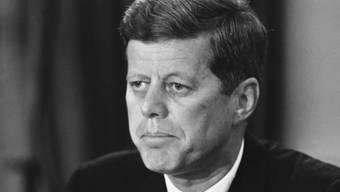 John F. Kennedy auf einer Aufnahme aus dem Jahr 1962 (Archiv)
